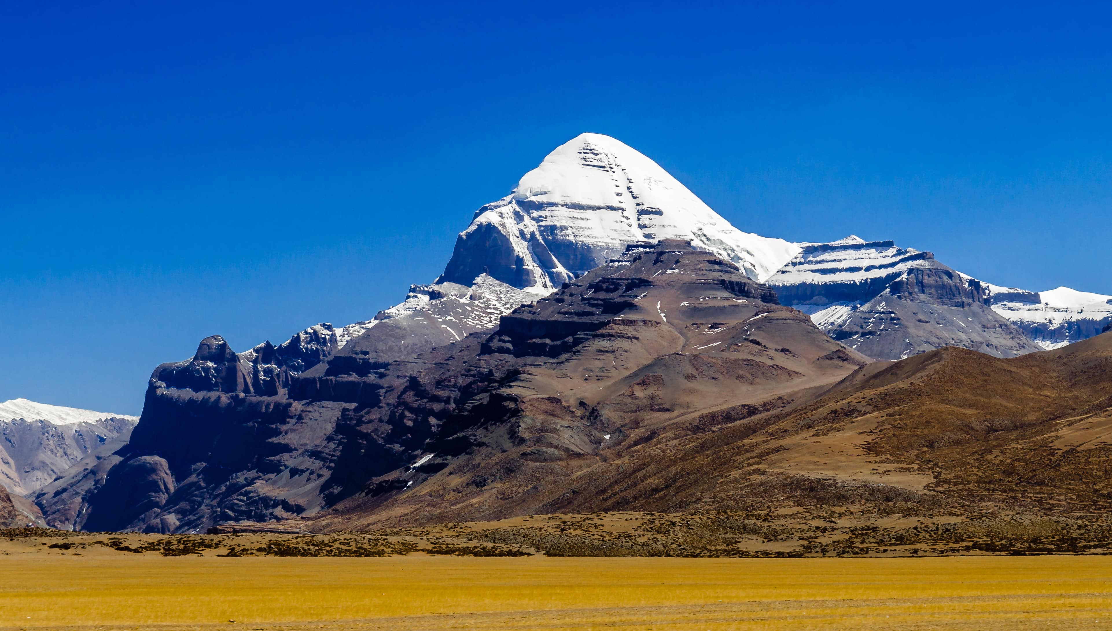 South face oif Mount Kailash in Tibet